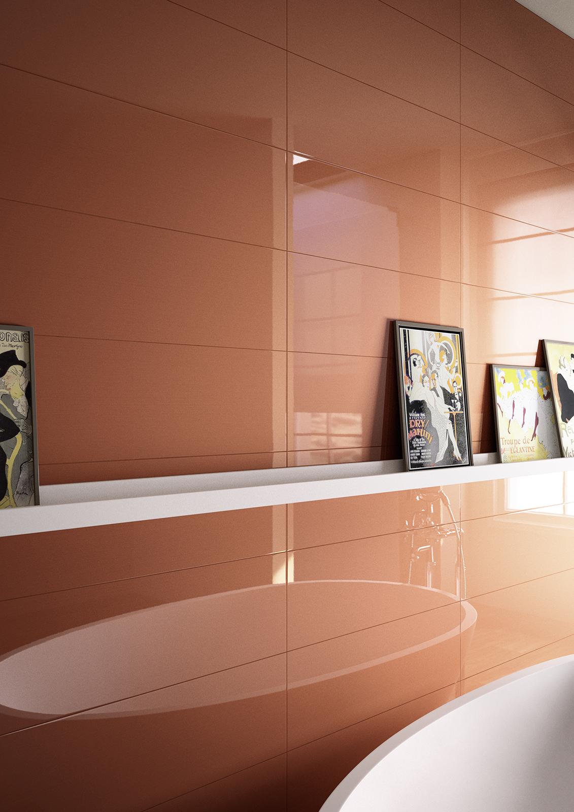 Piastrelle arancione guarda le collezioni marazzi - Piastrelle mosaico bagno marazzi ...
