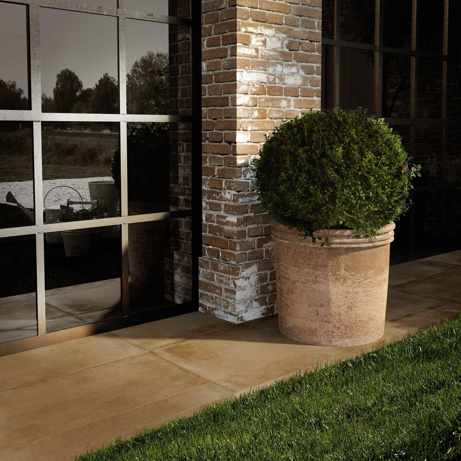 Gres porcellanato effetto cotto e cemento marazzi - Ergon piastrelle ...