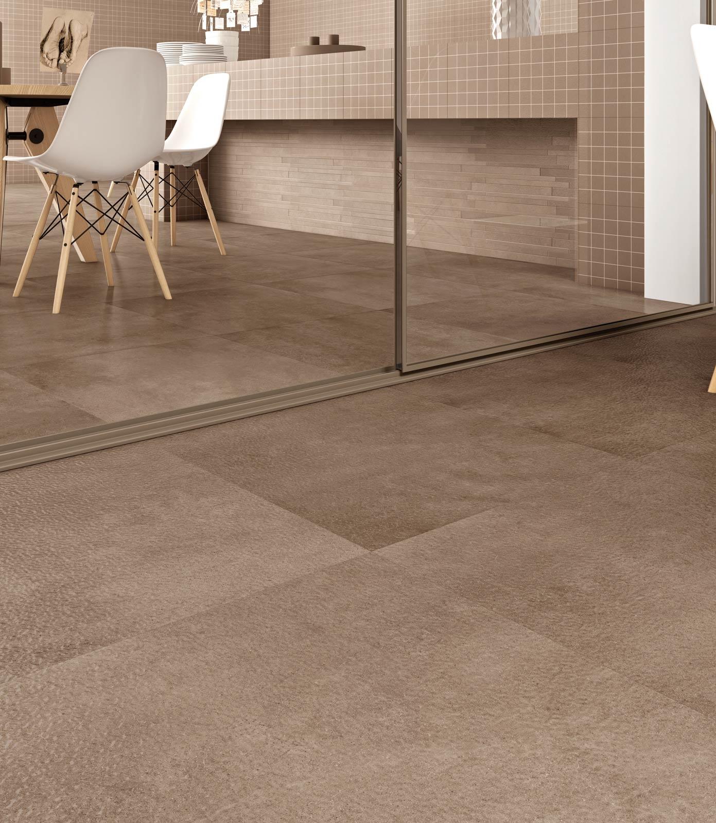 Piastrelle pavimenti e rivestimenti effetti e colori - Piastrelle in cotto per interni ...