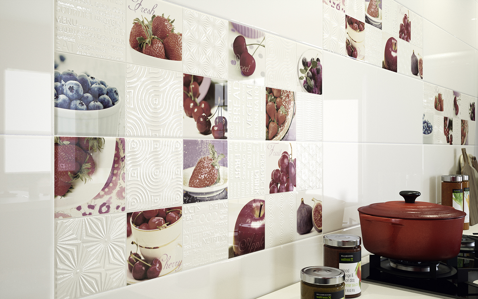 Diamond piastrelle in ceramica per cucina marazzi - Piastrelle di ceramica ...