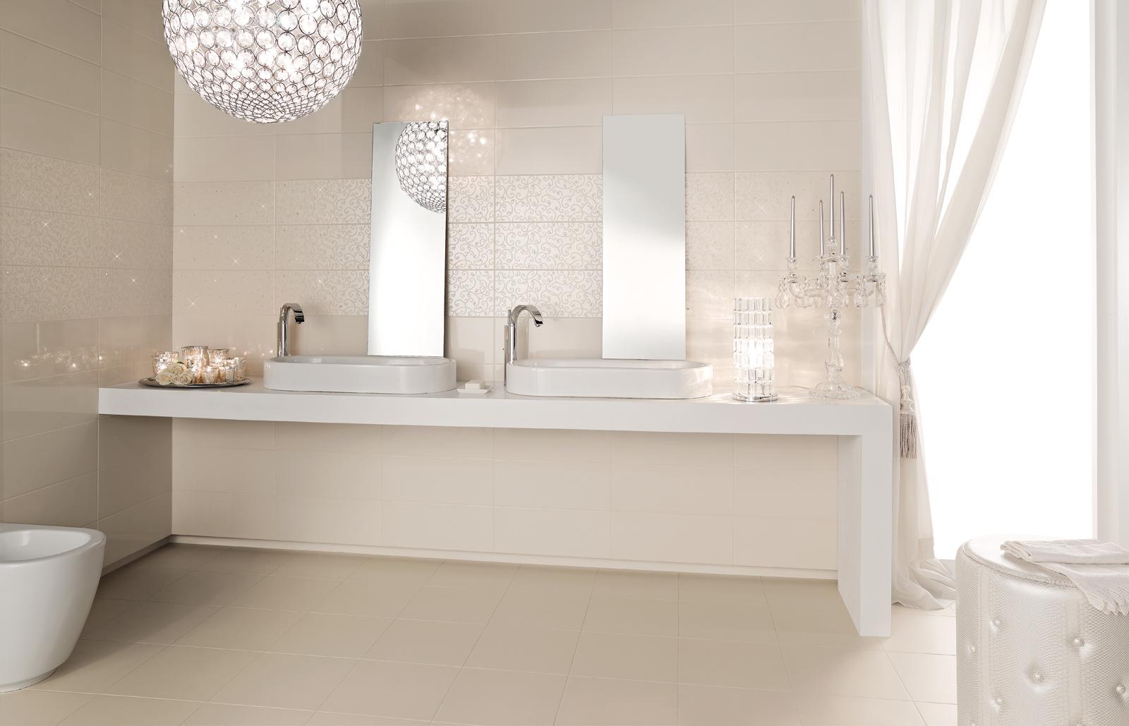 Dots piastrelle da rivestimento lucide marazzi - Pittura per bagno senza piastrelle ...