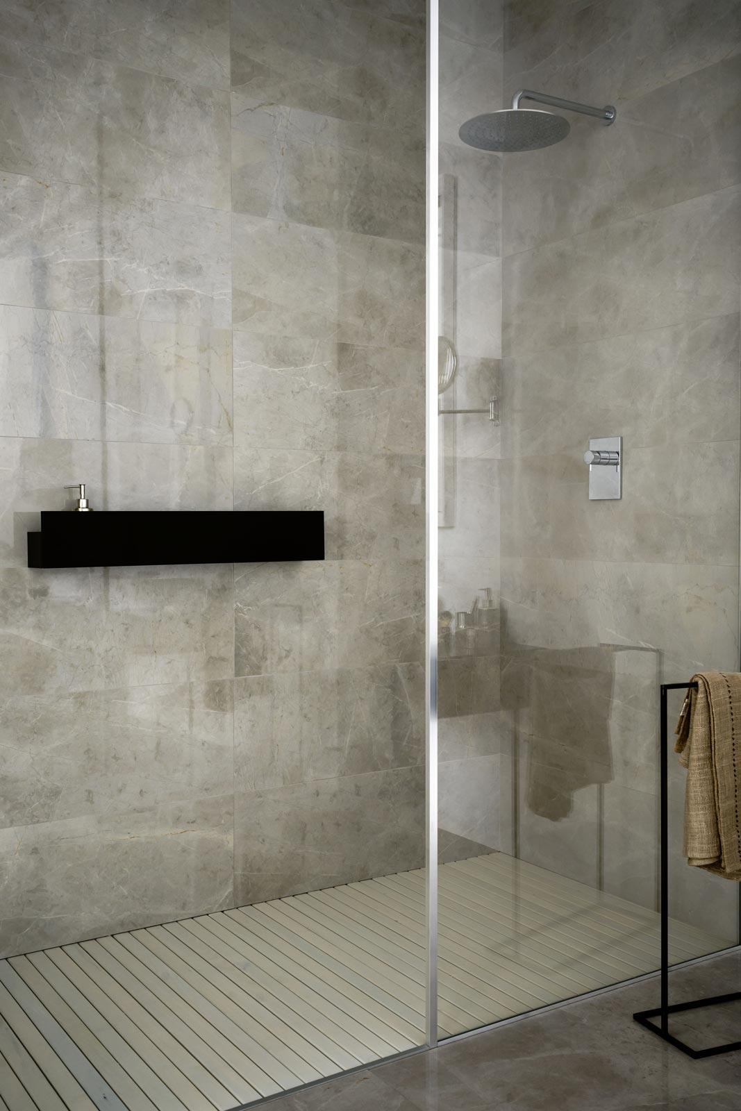 ... Marazzi e gres porcellanato pensate per lambiente bagno e una spa