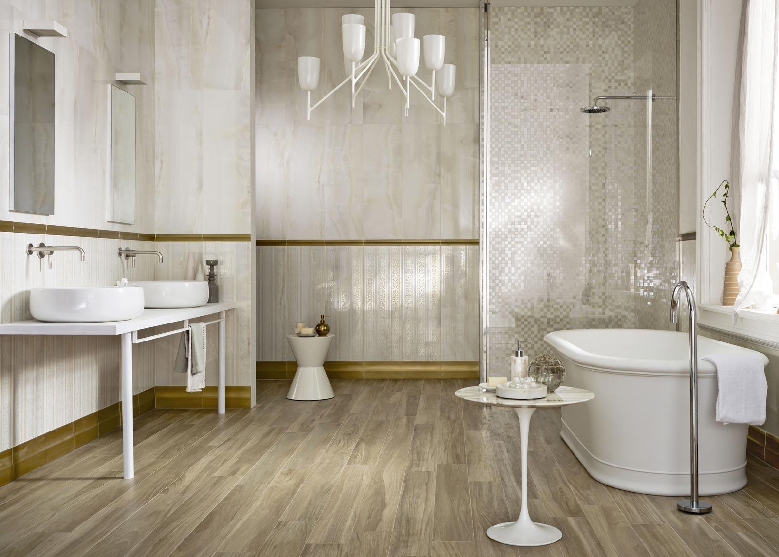 Piastrelle bagno marazzi effetto marmo collezione daylight