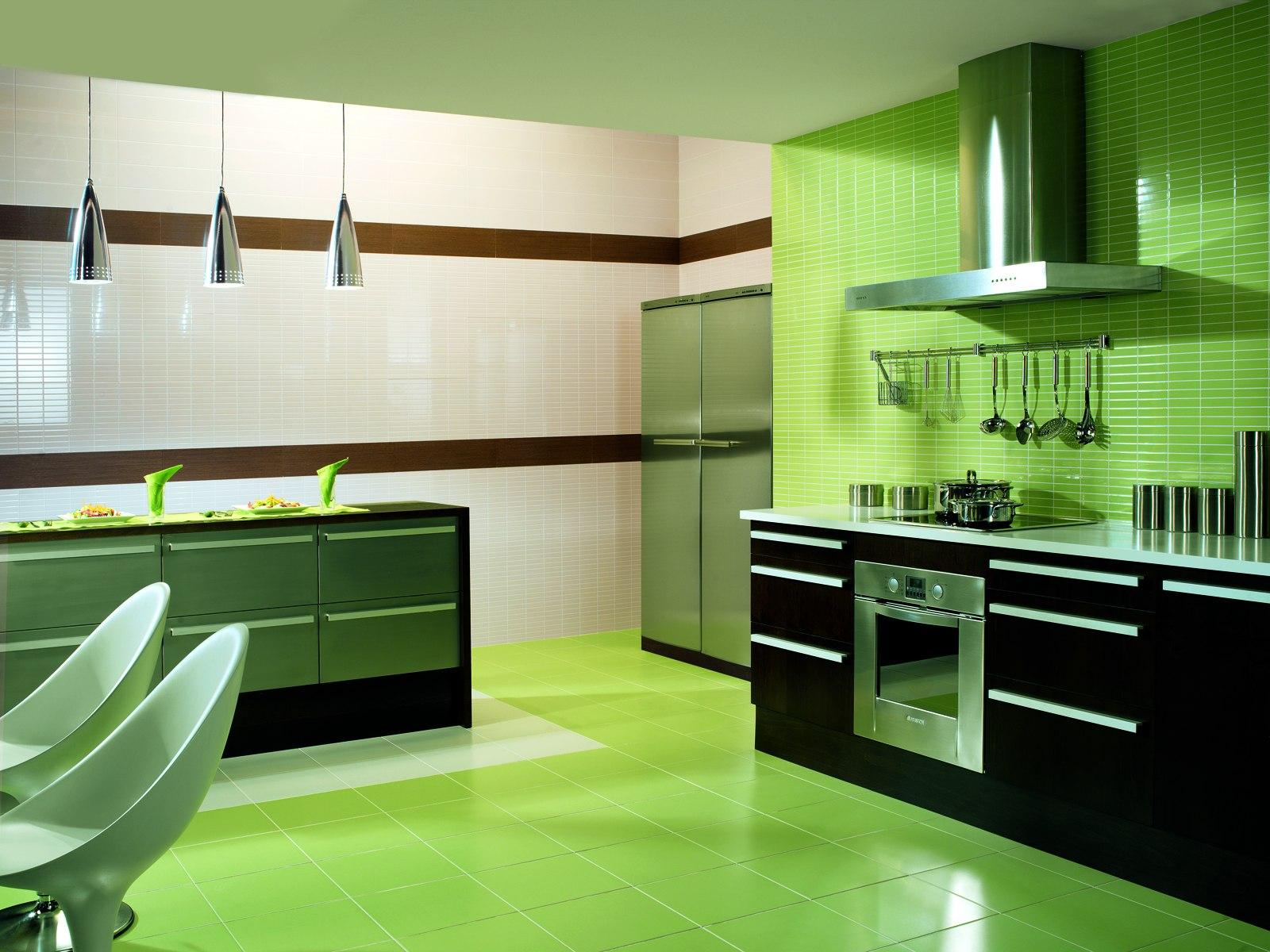 Carrelage vert en gr s c rame marazzi for Carrelage marazzi salle de bain