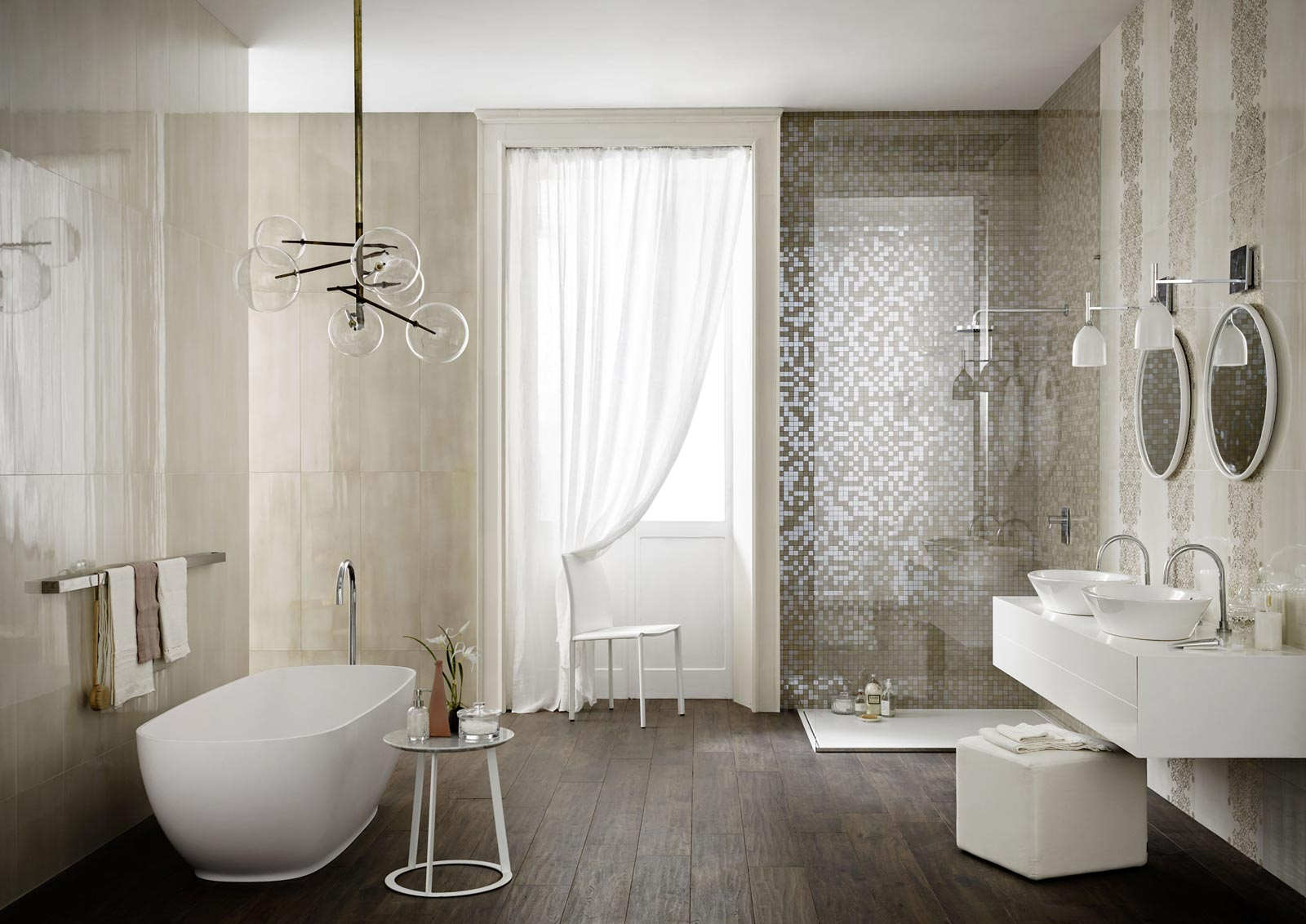 Imperfetto piastrelle bagno colorate marazzi - Bad fliesen weiay ...