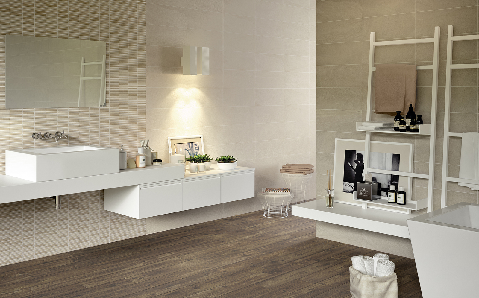Interiors rivestimento bagno e cucina marazzi - Rivestimento piastrelle cucina ...