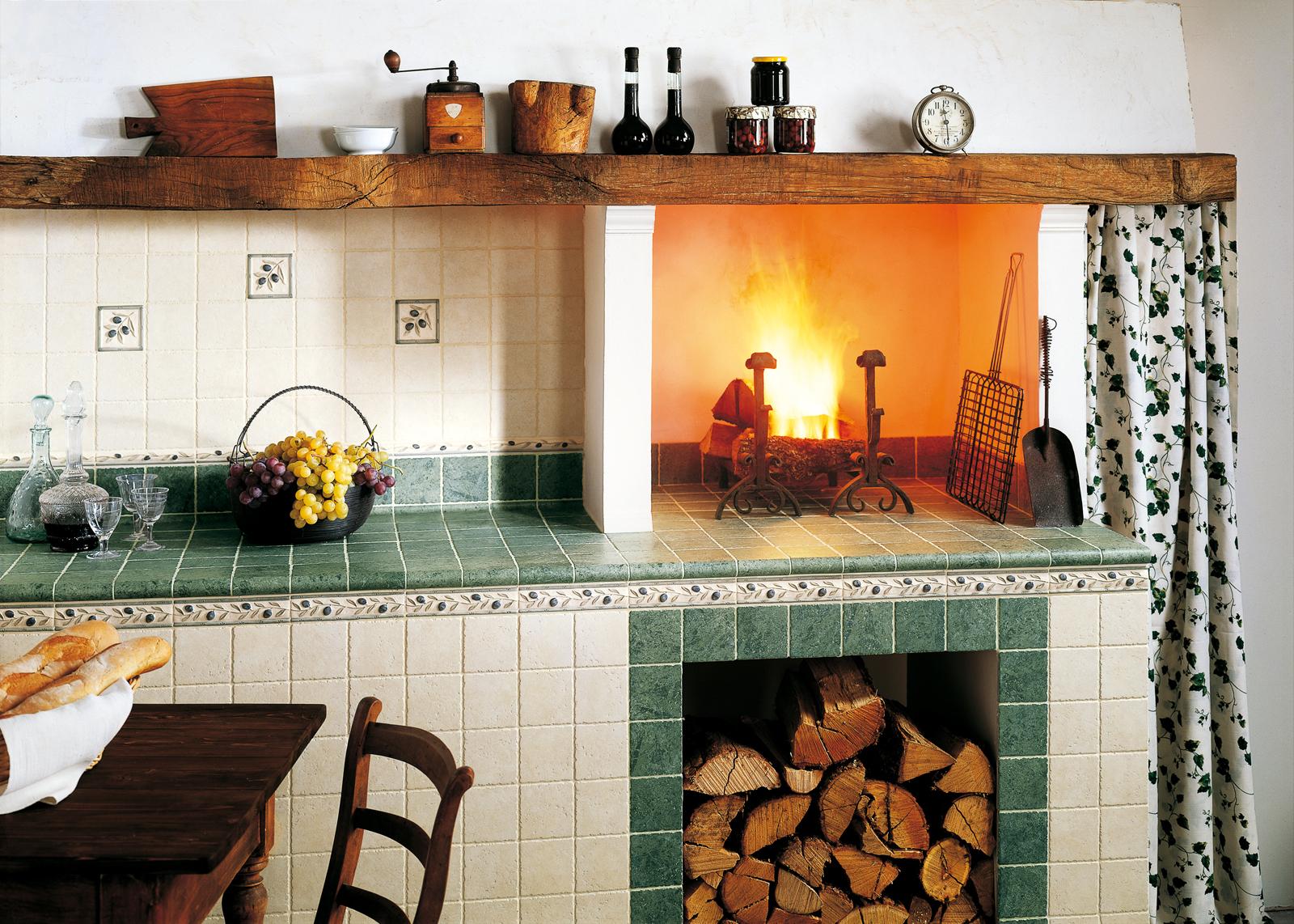 i policromi | marazzi - Mattonelle 10x10 Cucina In Muratura