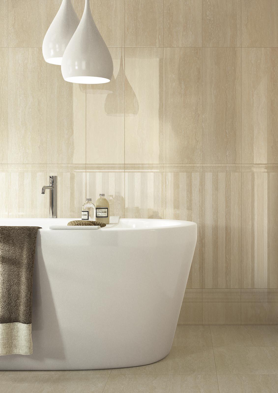 Marbleline piastrelle effetto marmo marazzi - Ceramiche per bagno marazzi ...