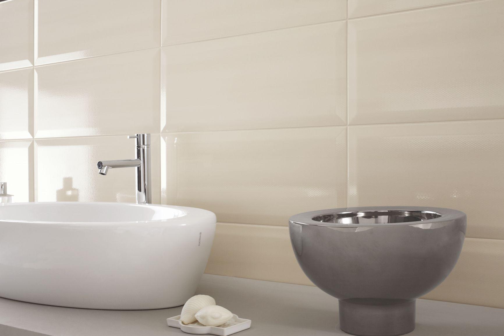 Piastrelle gialle guarda le collezioni marazzi for Piastrelle bagno bianche lucide