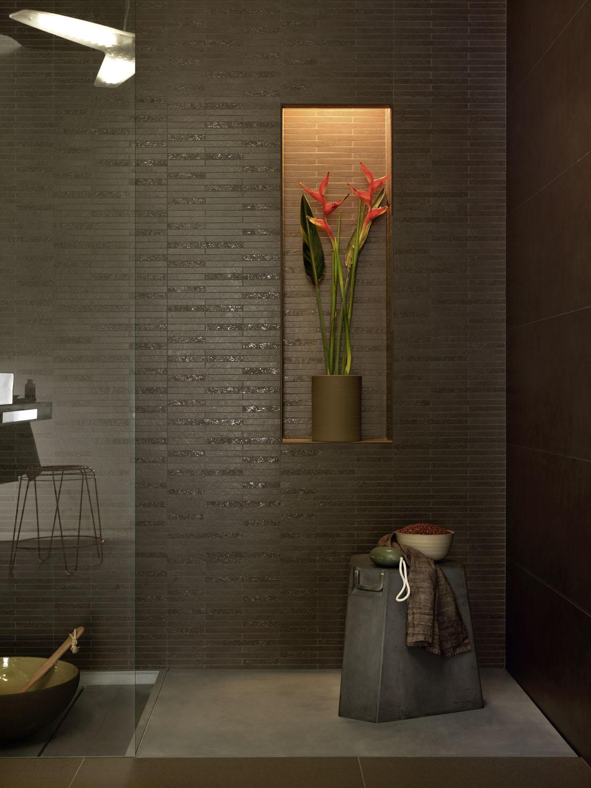 Piastrelle pavimento doccia mosaici rivestimenti marazzi - Piastrelle doccia ...