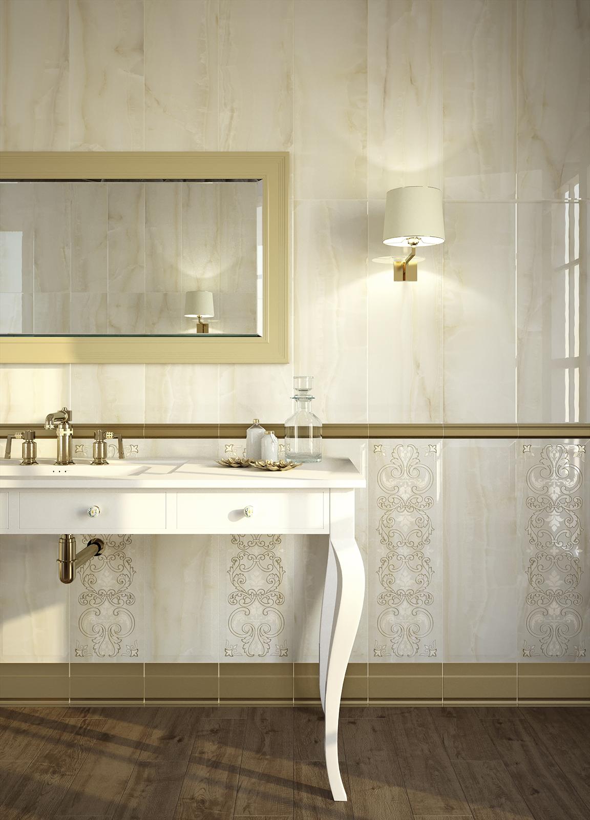 Onix - Ceramica per bagno effetto marmo  Marazzi