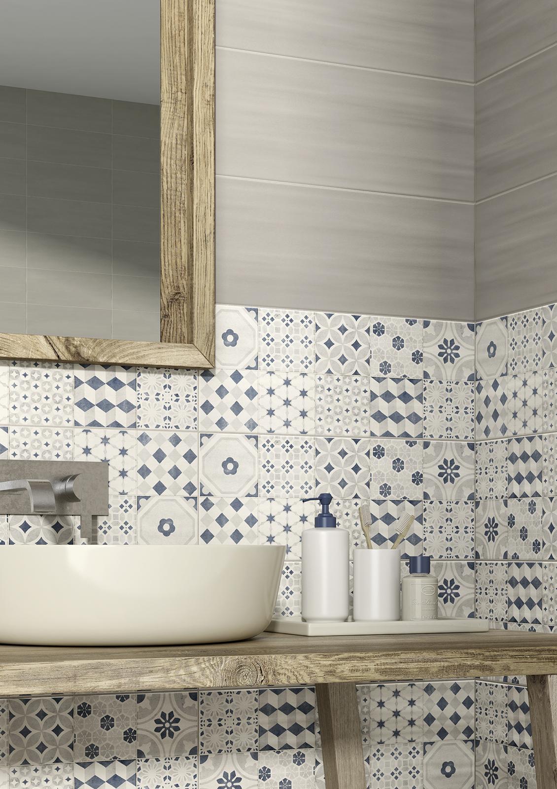 Paint rivestimento bagno e cucina marazzi - Piastrelle 10x10 bagno ...