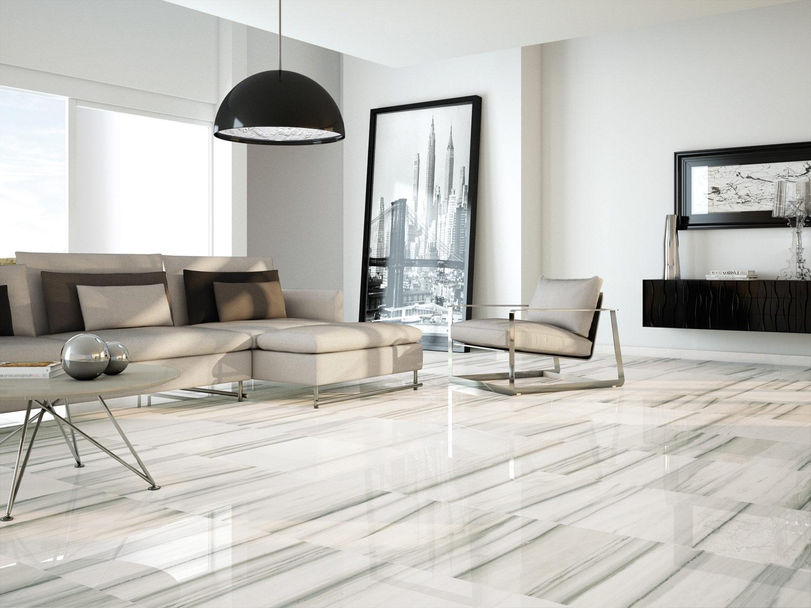 Perseo piastrelle lucide effetto marmo marazzi - Piastrelle effetto marmo ...