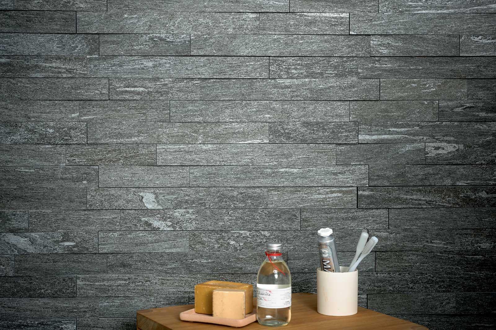 Mystone pietra di vals gres effetto pietra marazzi - Piastrelle gres porcellanato effetto pietra ...