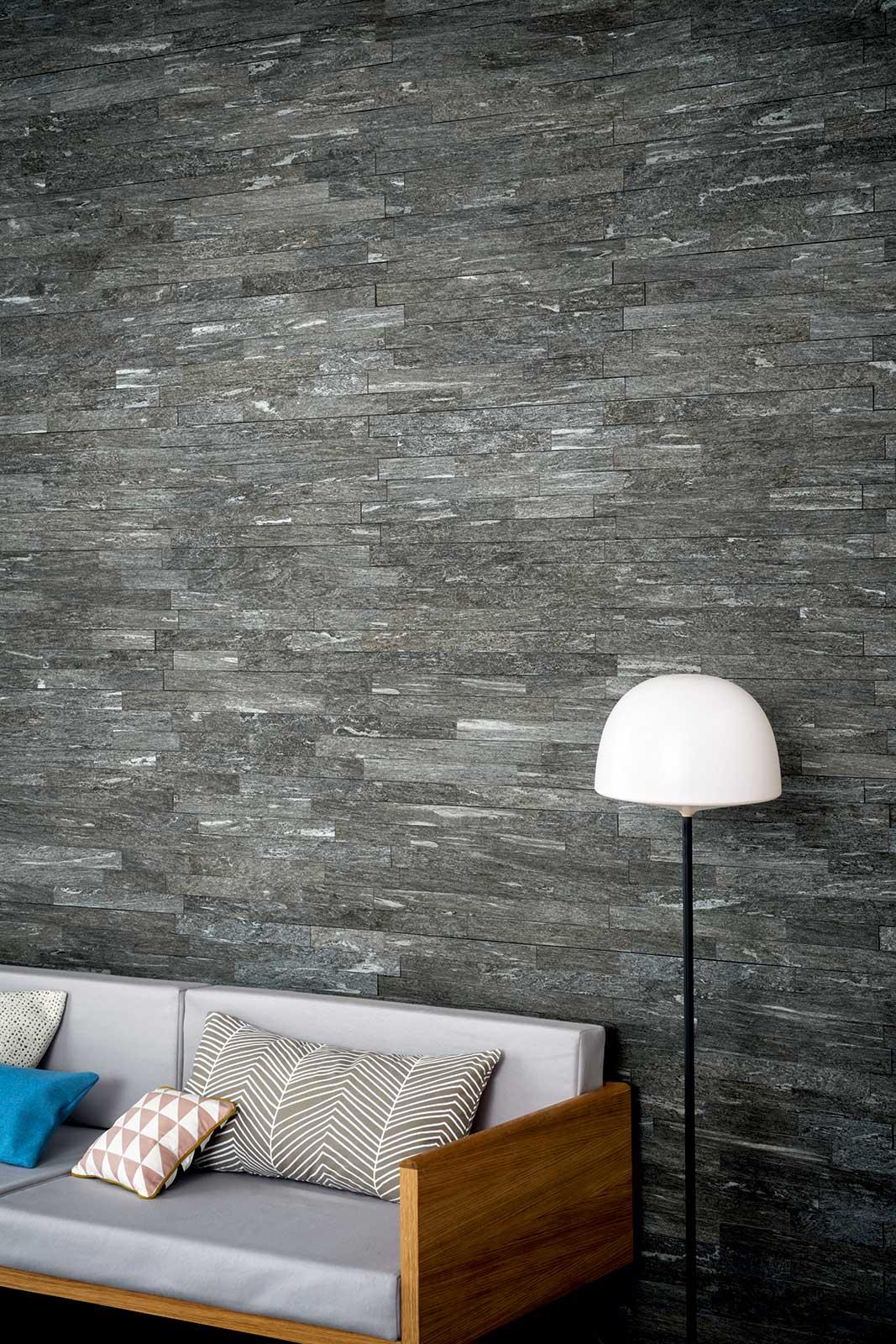 Mystone pietra di vals gres effetto pietra marazzi for Piastrelle pietra