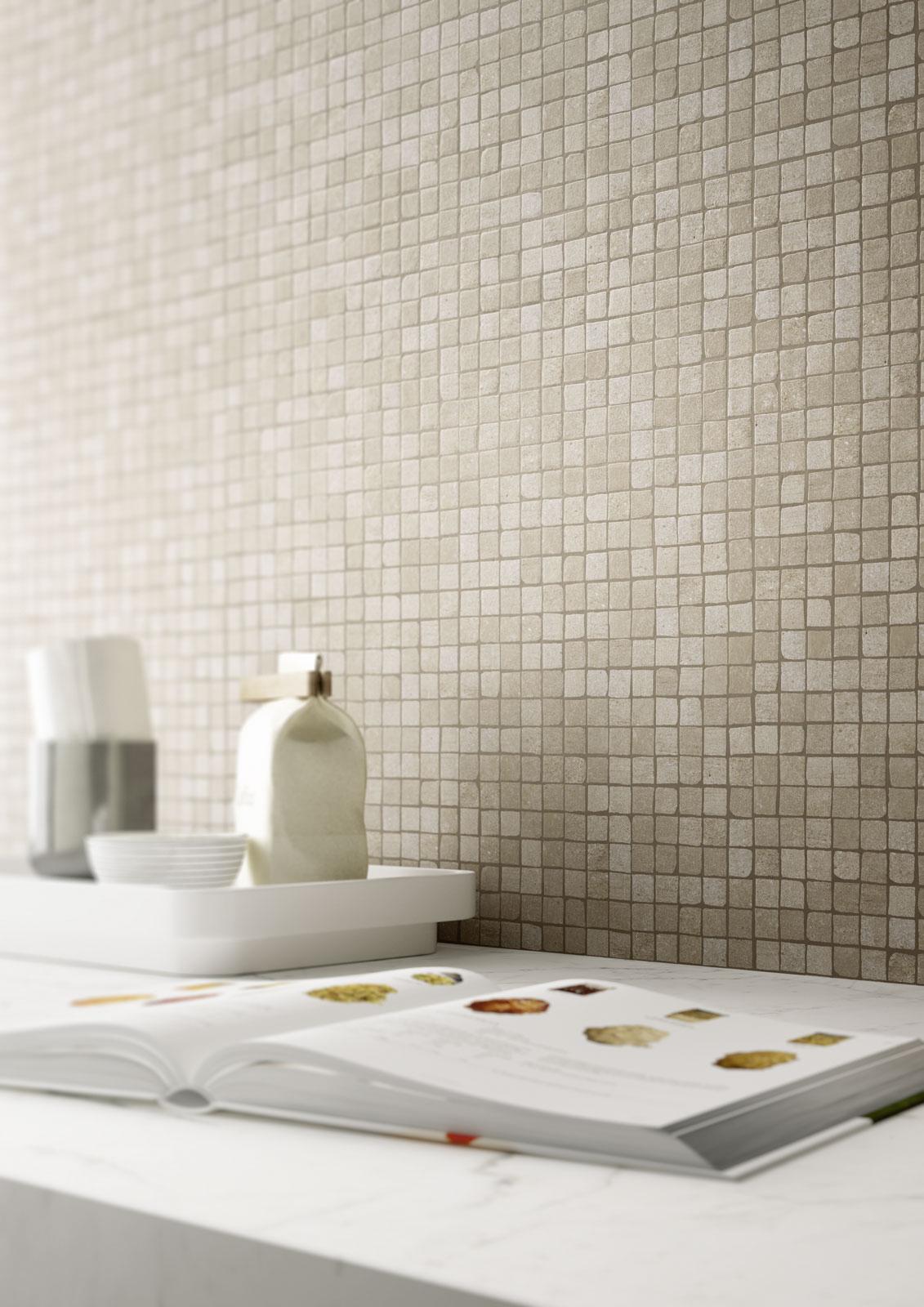 Gres porcellanato effetto cotto e cemento marazzi - Piastrelle gres porcellanato effetto marmo ...