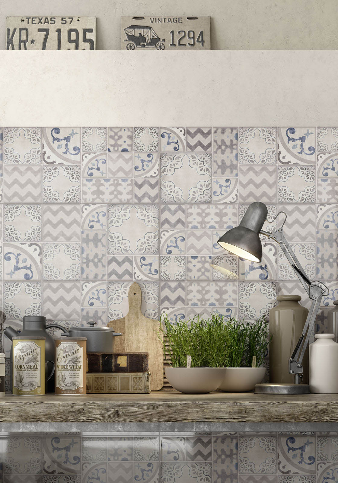 Piastrelle Cucina Contemporanea : Pottery piastrelle da rivestimento lucide marazzi