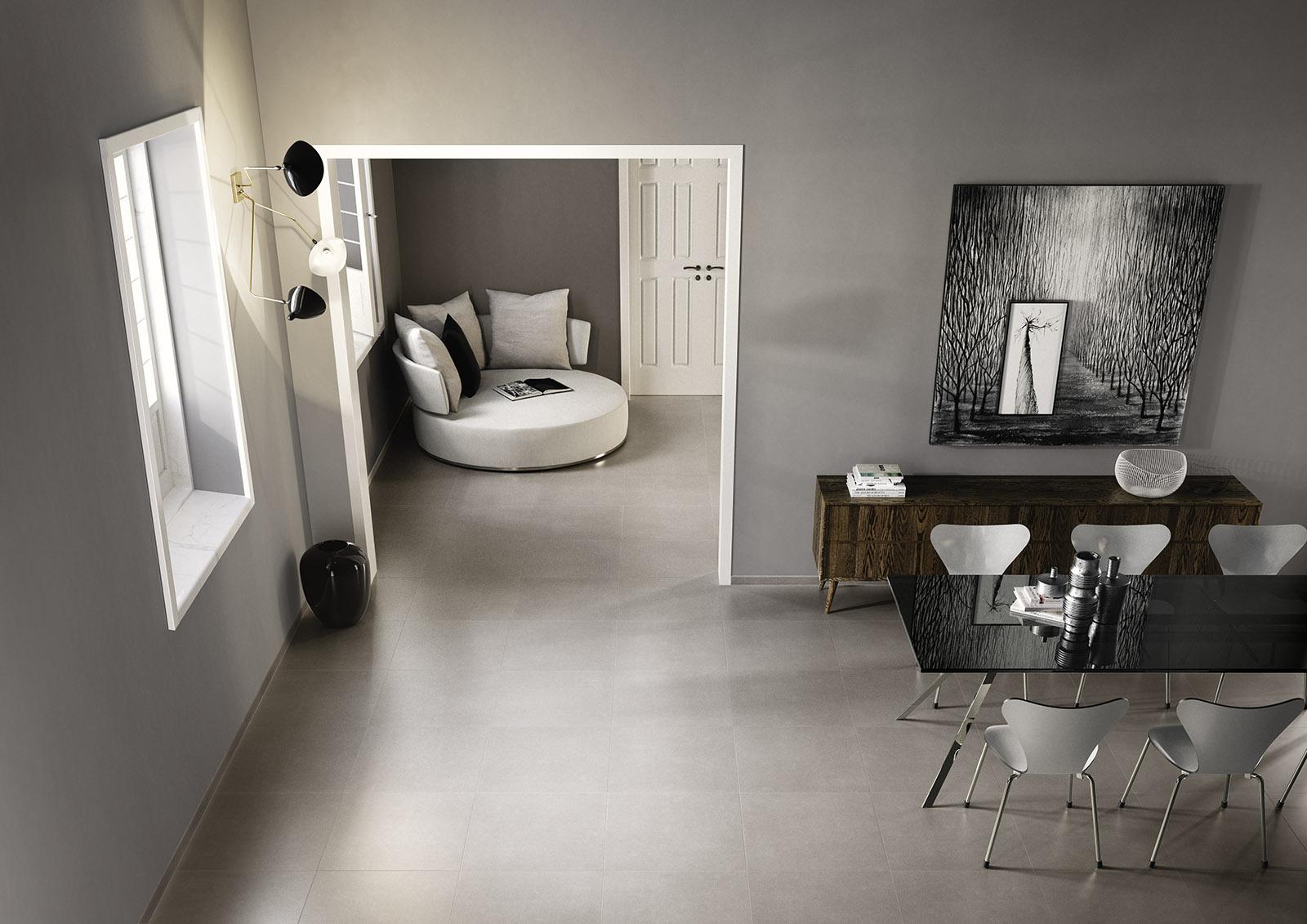 progress - gres porcellanato effetto cemento | marazzi - Progress Arredo Bagno