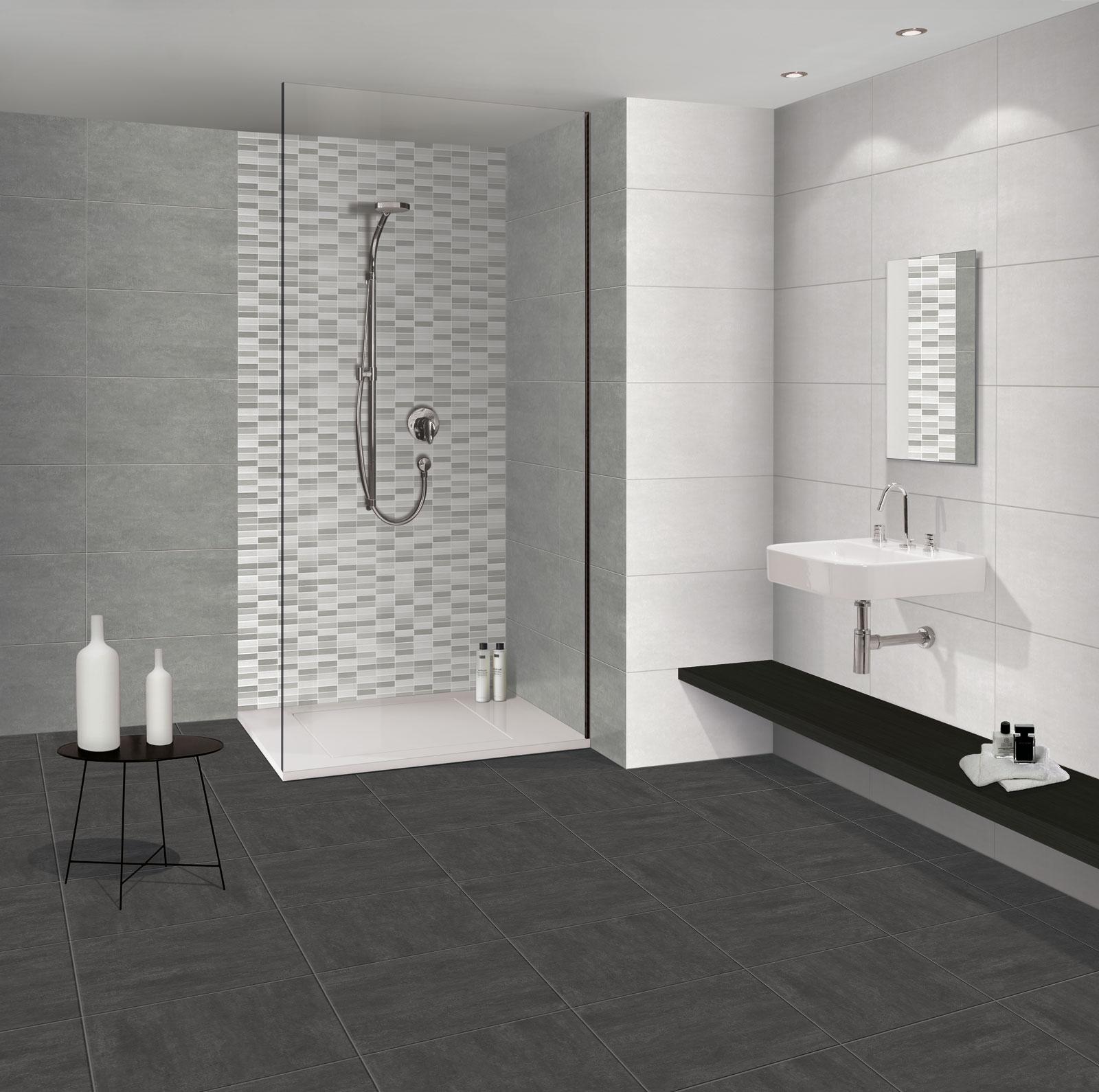 Serpal rivestimento effetto cemento marazzi for Rivestimenti bagni contemporanei