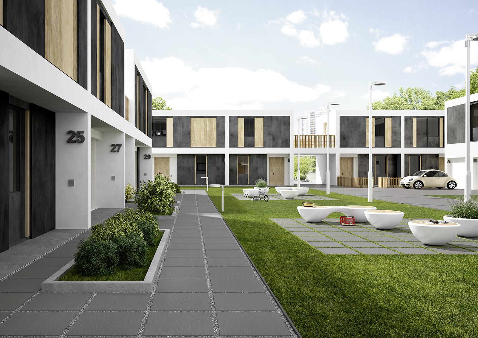 Sistemn20 pavimentazione per esterno marazzi - Piastrelle per terrazze esterne ...