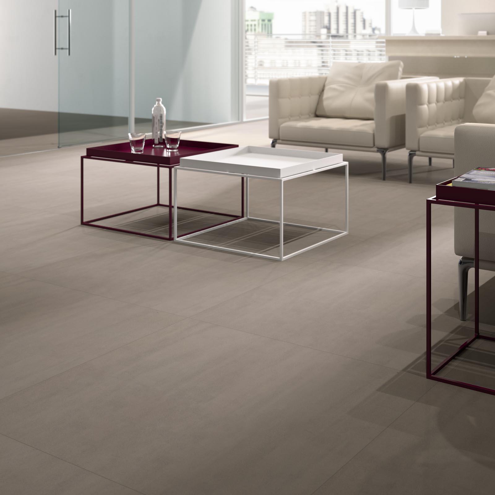 Pavimenti e rivestimenti di grandi formati marazzi for Piastrelle 80x80