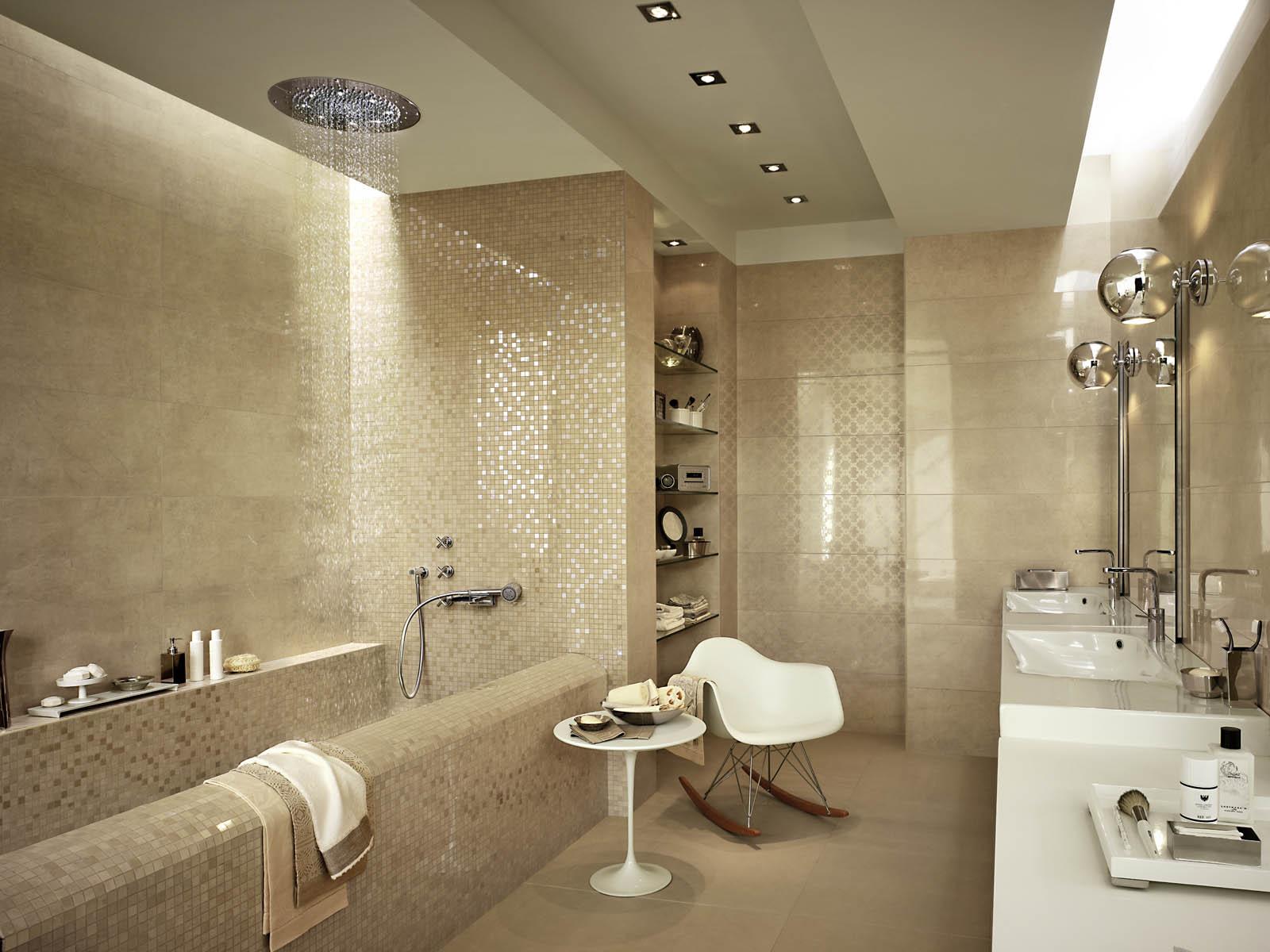 Stonevision rivestimento lucido marazzi - Smalto per pareti bagno ...