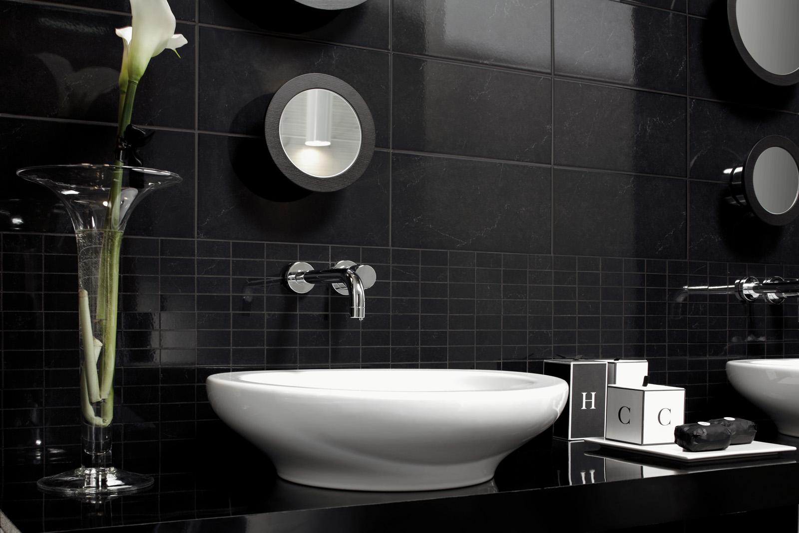 suite ceramica lucida effetto marmo marazzi