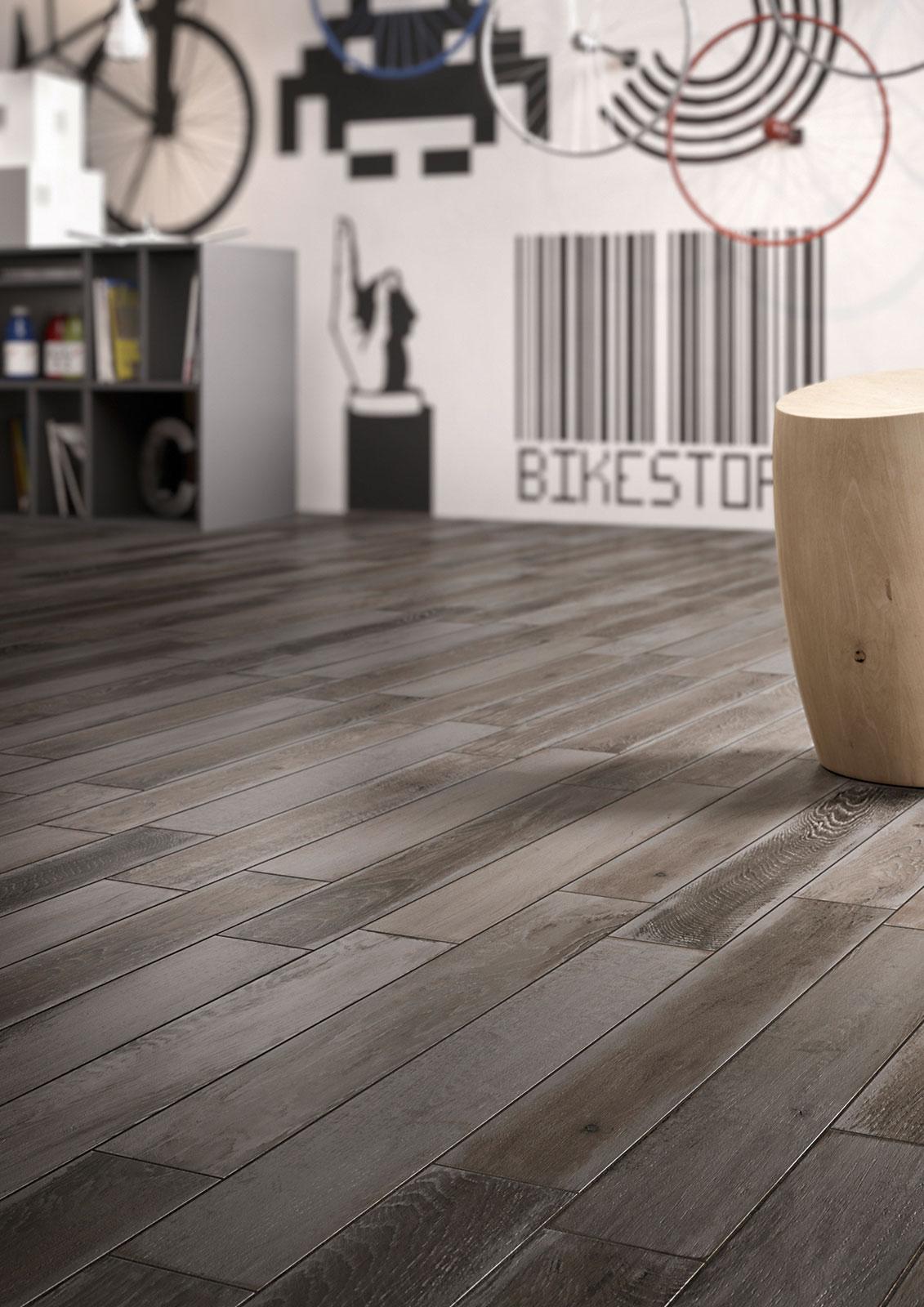 ... Marazzi in gres porcellanato effetto legno. Pavimenti raffinati adatti