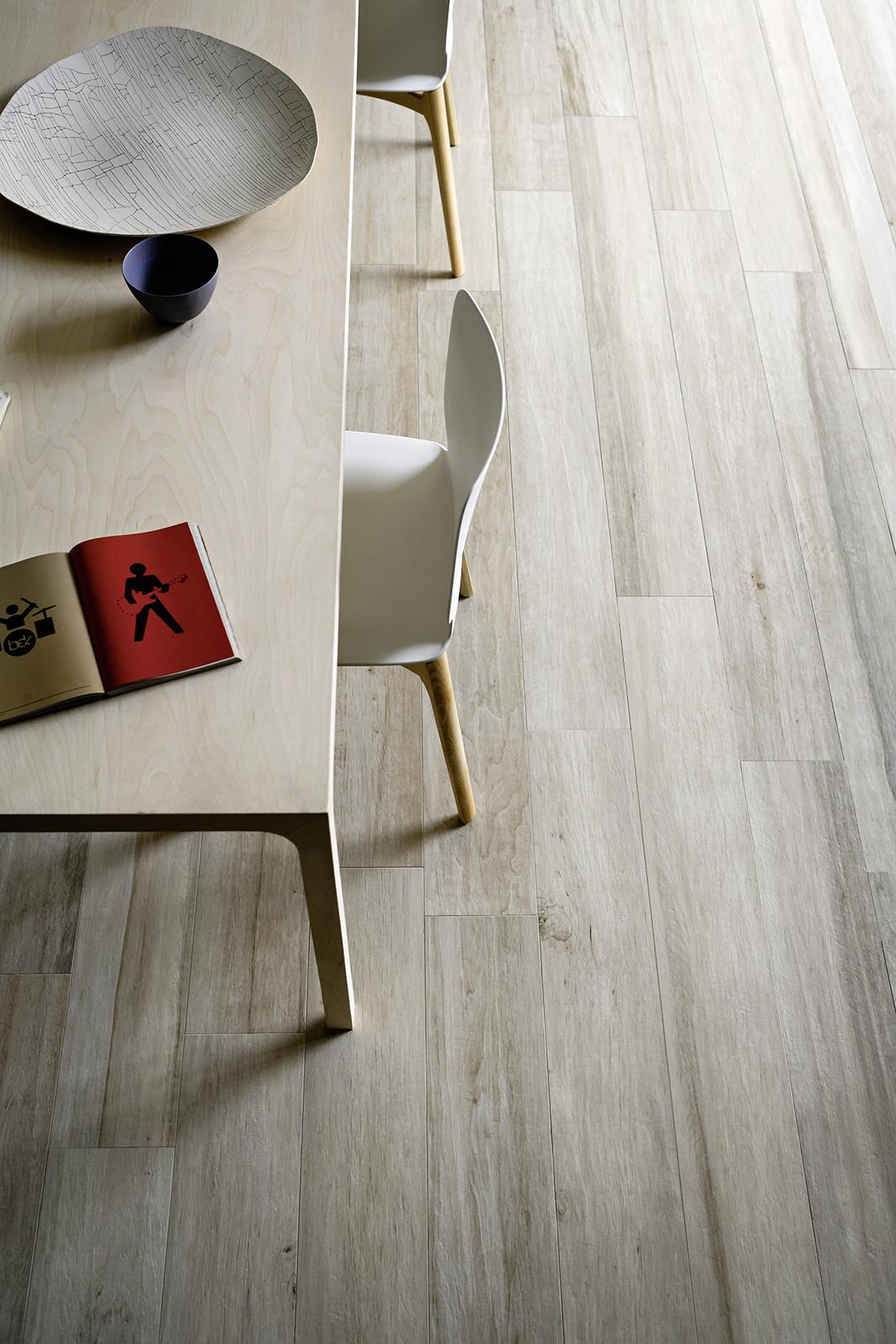Gres porcellanato effetto legno e parquet marazzi - Piastrelle color legno ...