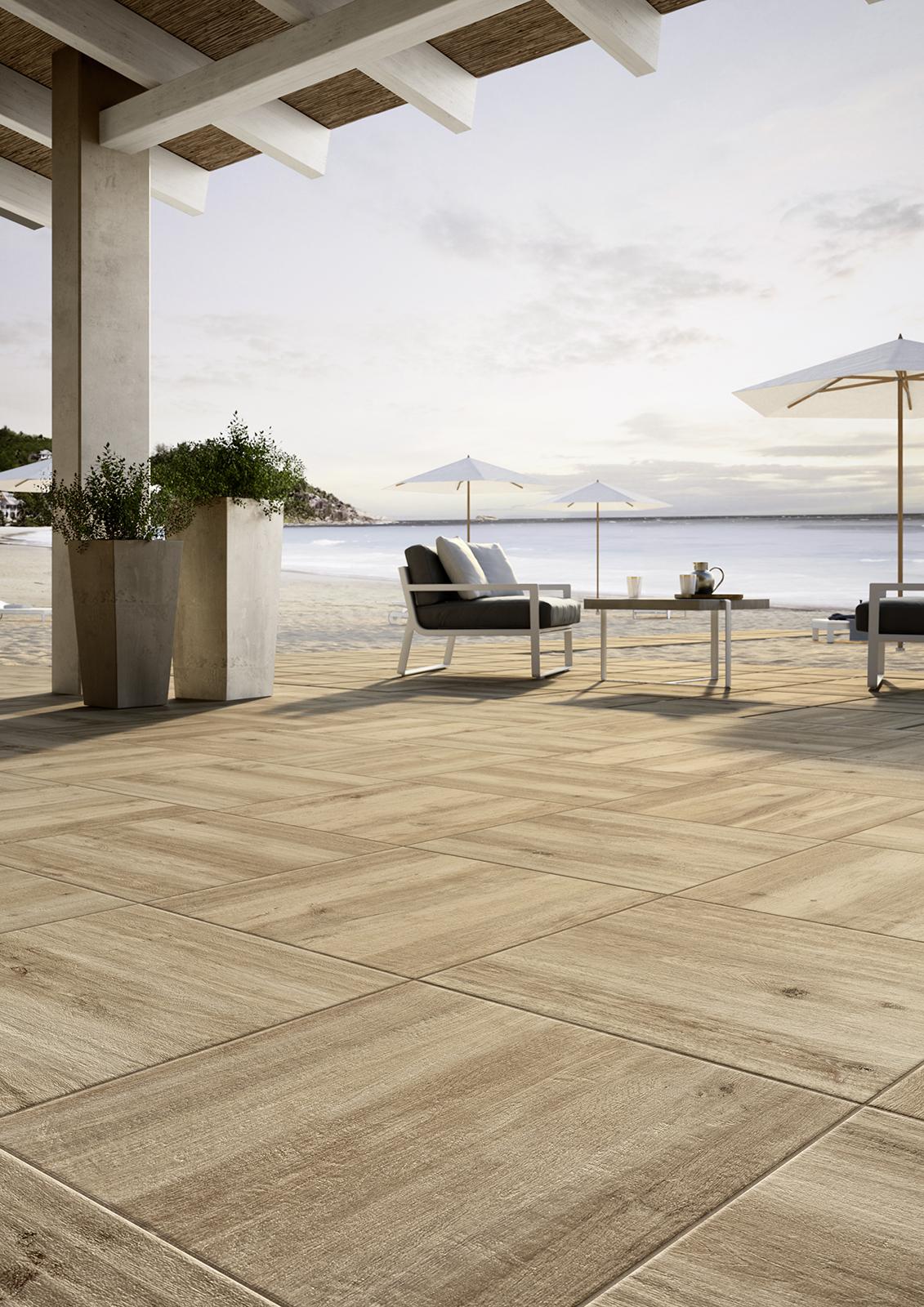 Pavimenti per esterni piastrelle gres porcellanato marazzi for Design per esterni