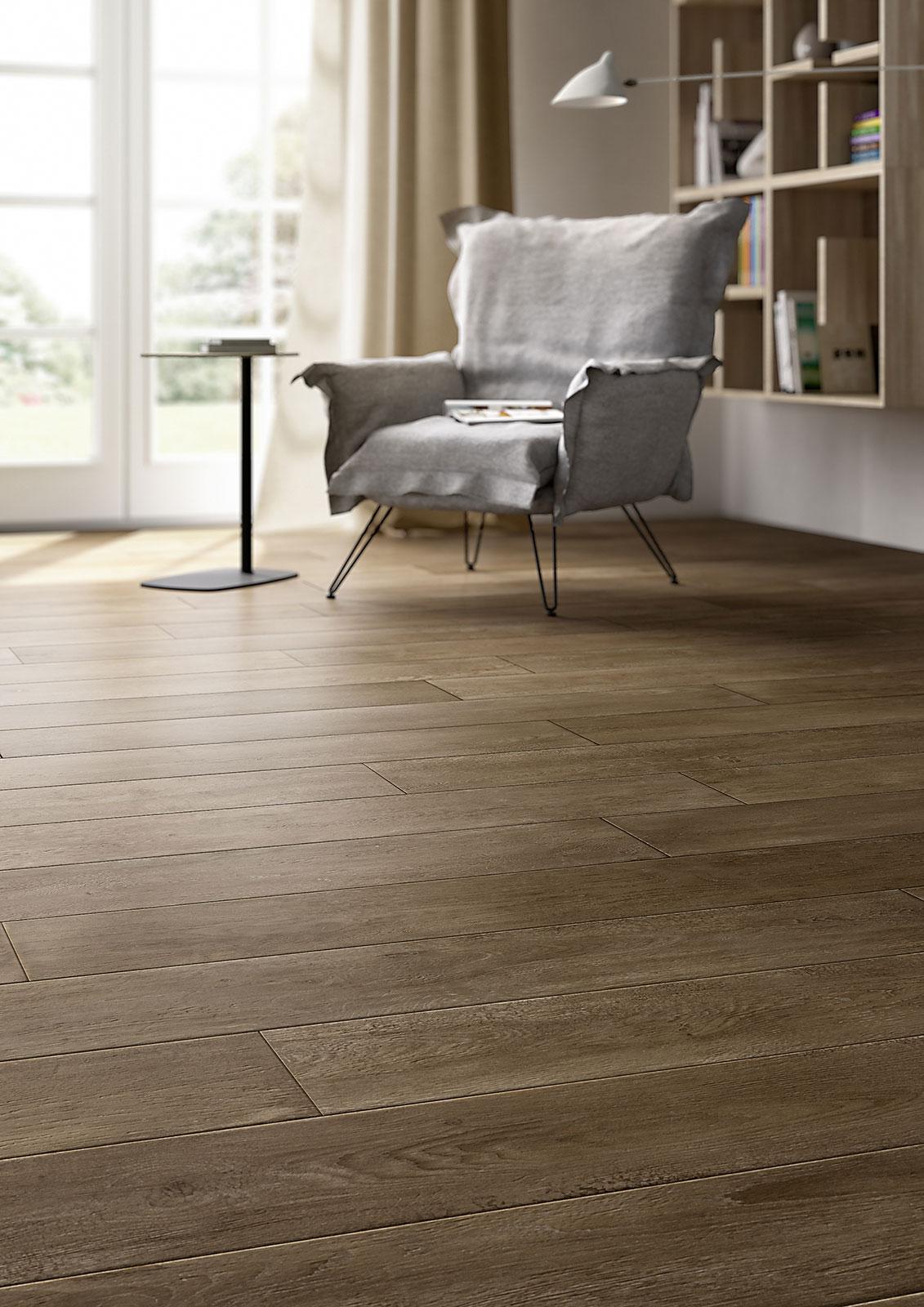 Treverktime gres pavimento effetto legno marazzi - Piastrelle effetto parquet ...