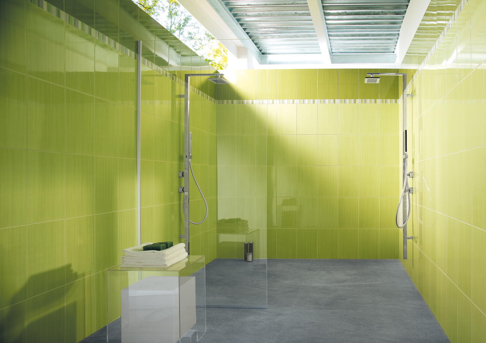 Rivestimento Bagno Verde Mela : Piastrelle bagno verde mela consigli di come ristrutturare un