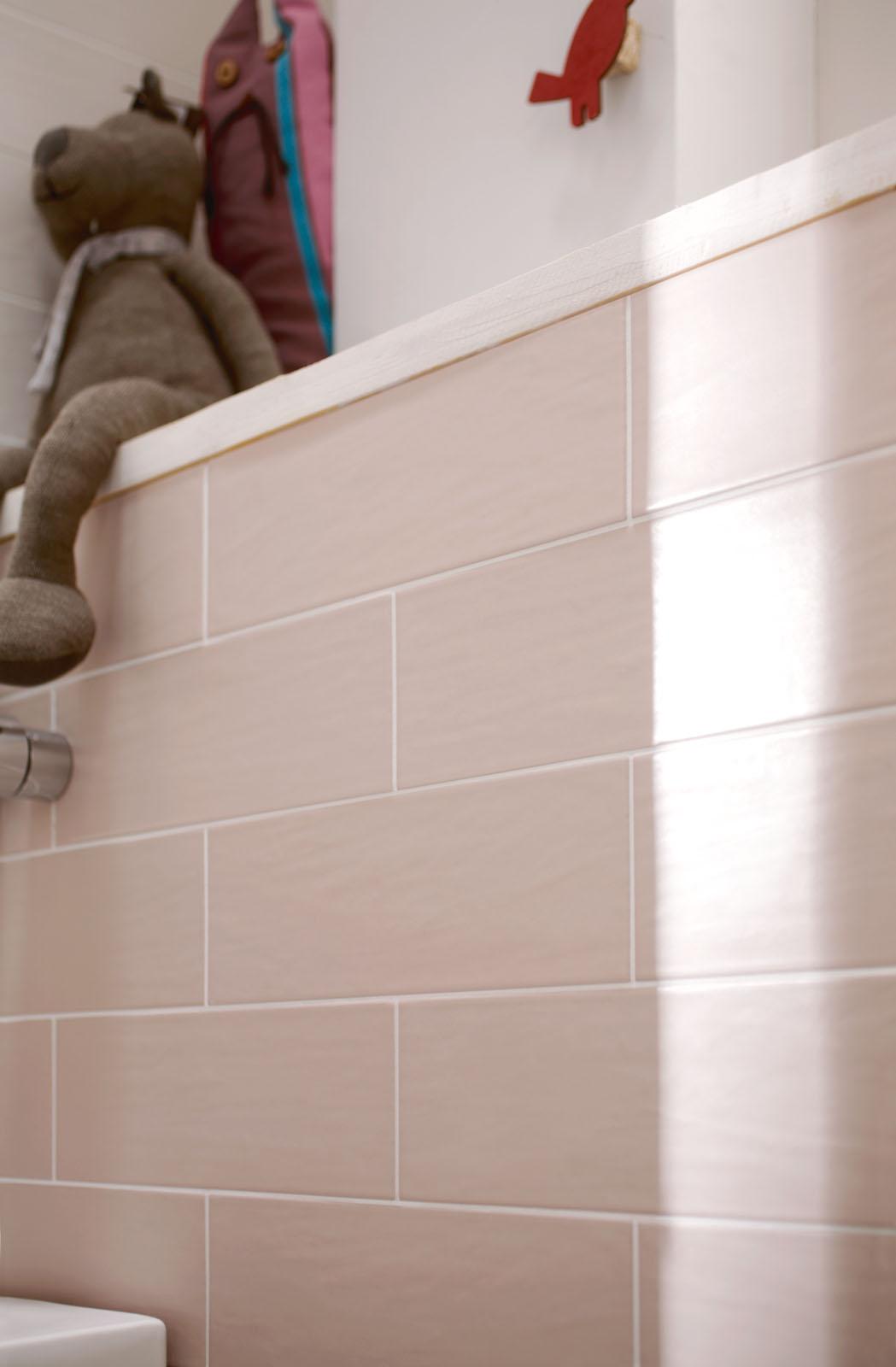 Scegli le piastrelle rosa che più si adattano al tuo bagno, sala o ...