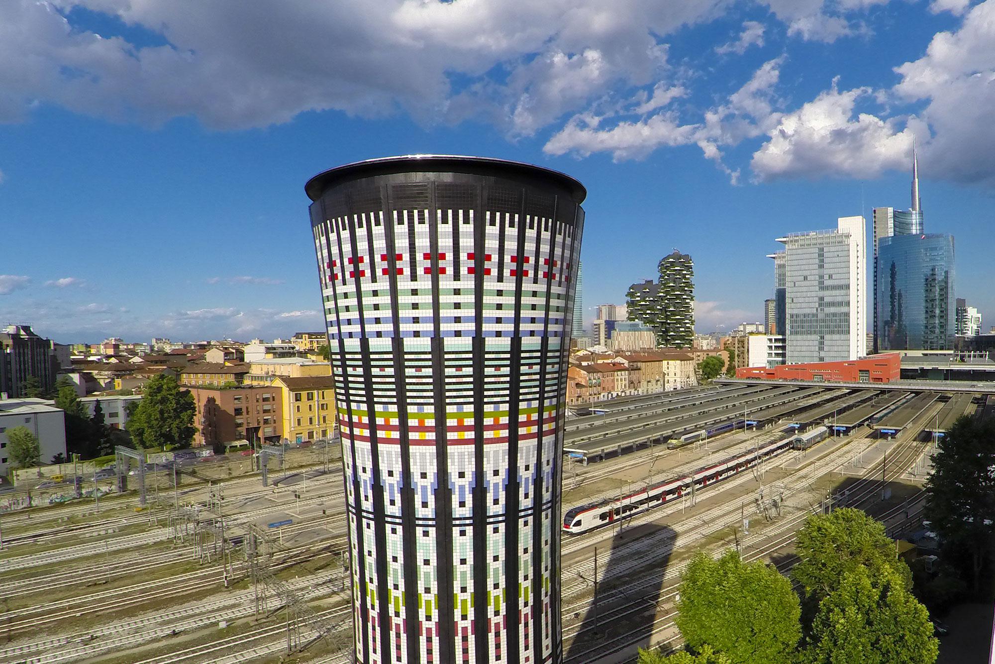 Torre arcobaleno marazzi - Stazione porta garibaldi indirizzo ...