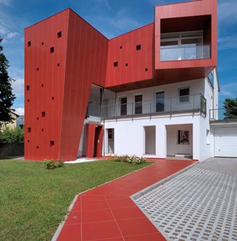 parete ventilata Villa Nesi TO