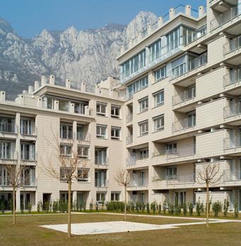 Complesso residenziale a Lecco